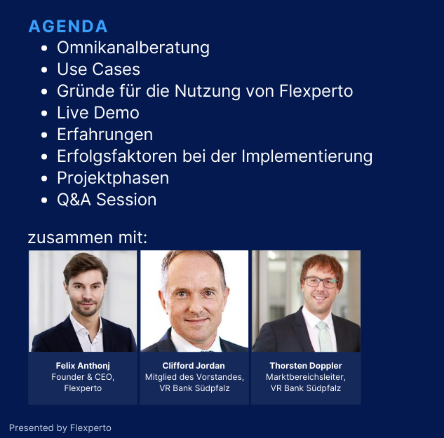 Anfrage Landing Page